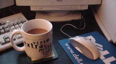 Kaffee und Wifi - Netz in der Innenstadt