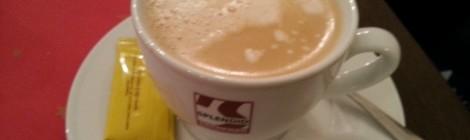 Kaffeepause wegen Weihnachtsfeiern